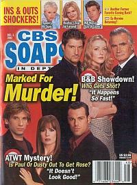 CBS Soaps In Depth December 2, 2003