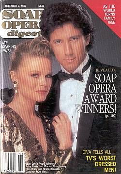 Soap Opera Digest December 2, 1986