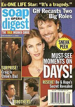 Soap Opera Digest Dec. 3, 2002