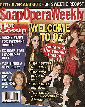 Soap Opera Weekly December 3, 2002
