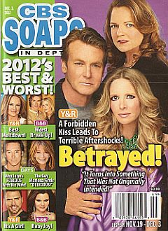 December 3, 2012 issue of CBS Soaps In Depth magazine