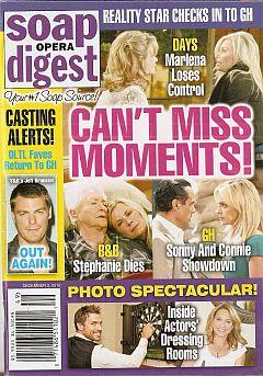 Soap Opera Digest December 3, 2012