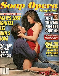 Soap Opera Magazine December 3, 1991