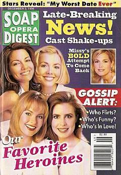 Soap Opera Digest - December 3, 1996