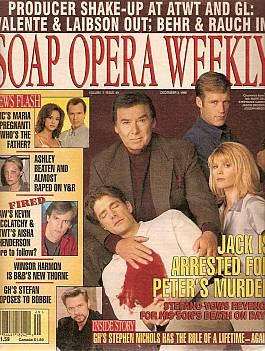 Soap Opera Weekly December 3, 1996
