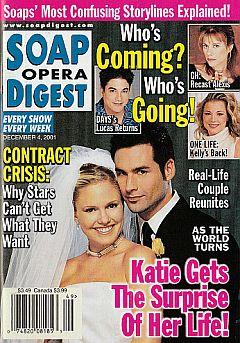 Soap Opera Digest Dec. 4, 2001