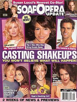 December 4, 2001 issue of Soap Opera Update magazine