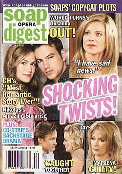 Soap Opera Digest Dec. 4, 2007