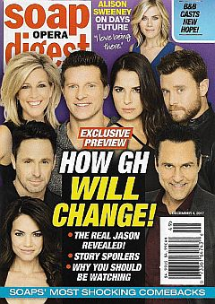 Soap Opera Digest Dec. 4, 2017