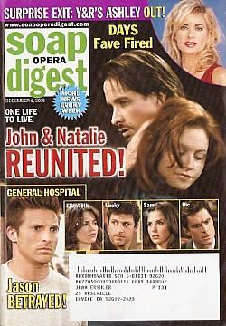 Soap Opera Digest Dec. 5, 2006