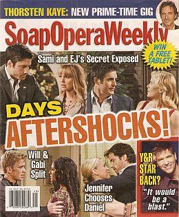 Soap Opera Weekly - December 6, 2011