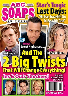December 7, 2015 issue of ABC Soaps In Depth magazine