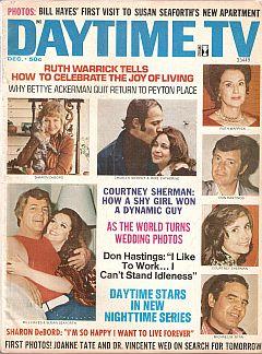 Daytime TV - December 1972