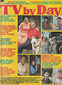 December 1974 issue of TV By Day soap opera magazine