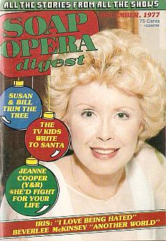 December 1977 issue of Soap Opera Digest