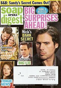 Soap Opera Digest December 8, 2009