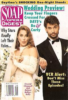 Soap Opera Digest December 8, 1992