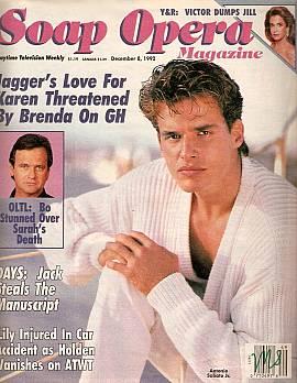 Soap Opera Magazine Dec. 8, 1992