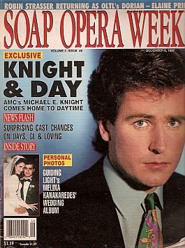 Soap Opera Weekly December 8, 1992