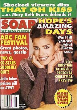 Soap Opera News December 8, 1998