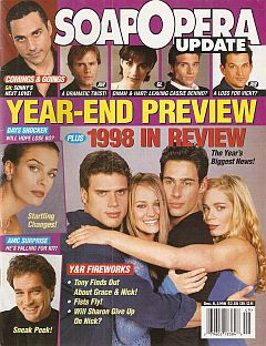 December 8, 1998 issue of Soap Opera Update magazine