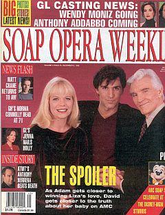 Soap Opera Weekly December 8, 1998