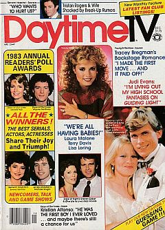 December 1983 issue of Daytime TV soap opera magazine