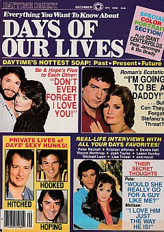 Everything Days Of Our Lives - December 1984