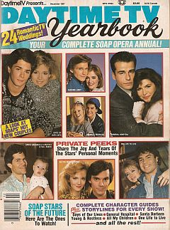 Daytime TV Yearbook - Dec. 1987