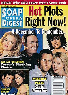 Soap Opera Digest - December 9, 1997