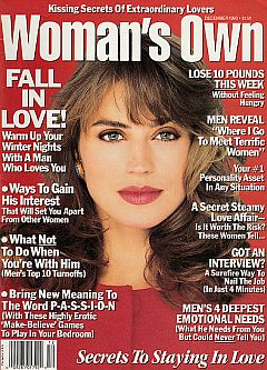 December 1993 issue of Woman's Own magazine