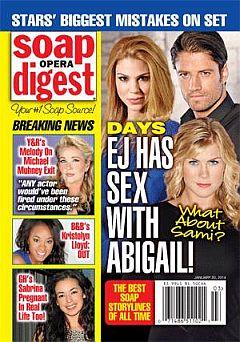 Soap Opera Digest Jan. 20, 2014