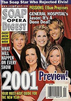 Soap Opera Digest Jan. 2, 2001
