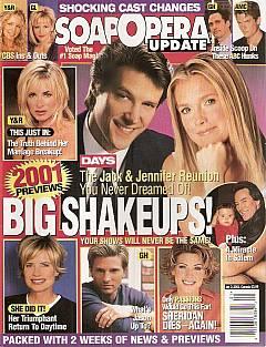 Soap Opera Update January 2, 2001