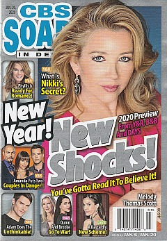CBS Soaps In Depth January 20,. 2020