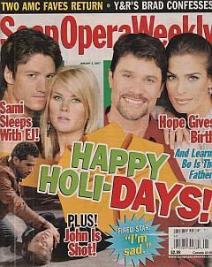 Soap Opera Weekly January 2, 2007