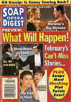 Soap Opera Digest - January 20, 1998