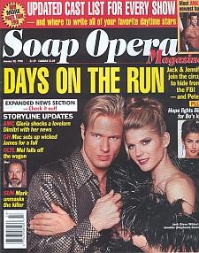 Soap Opera Magazine January 20, 1998
