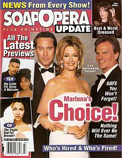 January 20, 1998 issue of Soap Opera Update magazine