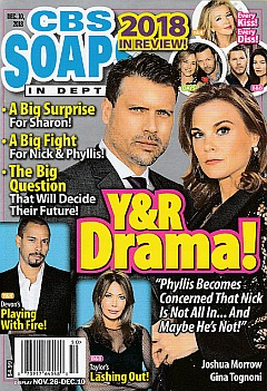 CBS Soaps In Depth - Dec. 10, 2018