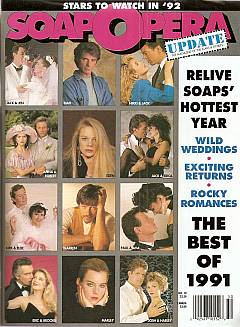 December 10, 1991 issue of Soap Opera Update magazine