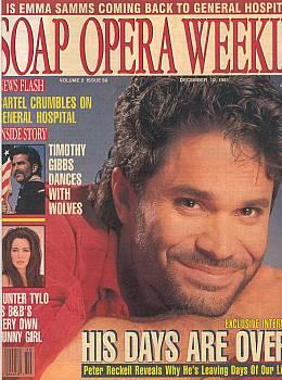 Soap Opera Weekly December 10, 1991
