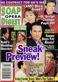 Soap Opera Digest Dec. 11, 2001