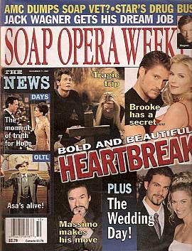 Soap Opera Weekly December 11, 2001
