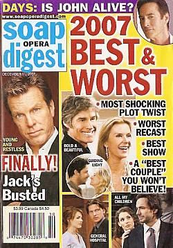 Soap Opera Digest Dec. 11, 2007