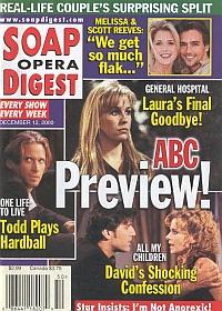 Soap Opera Digest - December 12, 2000