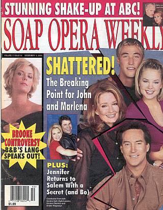 Soap Opera Weekly December 12, 2000