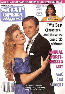 Soap Opera Digest December 12, 1989