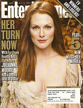 Entertainment Weekly December 13, 2002