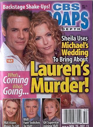 CBS Soaps In Depth December 13, 2005